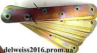Планка соединительная овальная 120х17 мм