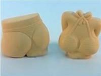 Форма силиконовая Бюстик (верх) 3D Люкс