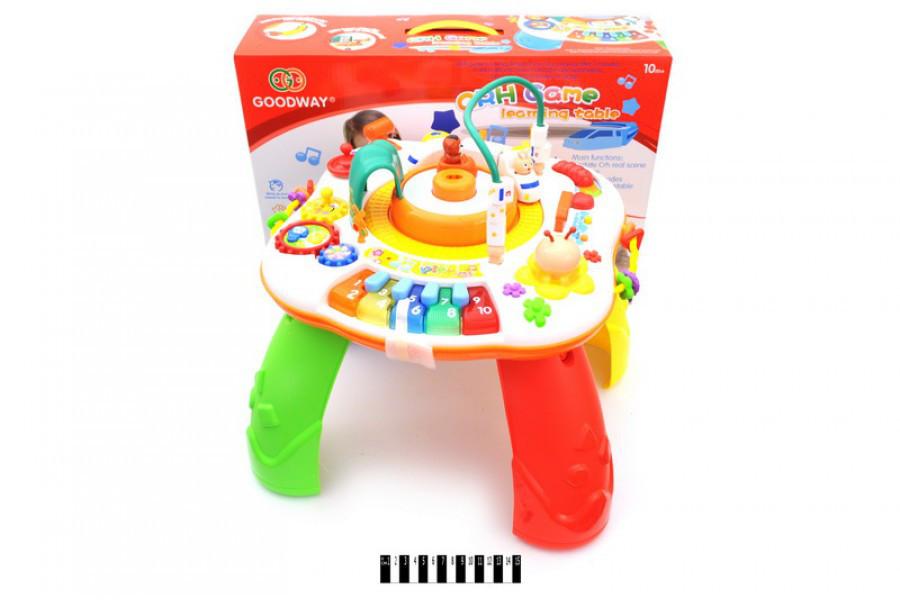 Развивающая Игрушка Музыкальный игровой центр столик 8866