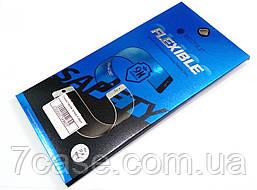 Гибкое защитное стекло BestSuit Flexible для Apple iPhone X / XS / 11 Pro черное