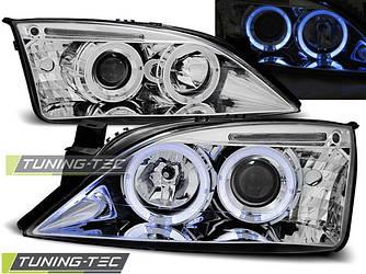 Передние фары тюнинг оптика Ford Mondeo MK3