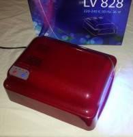 Лампа ультрафиолетовая для ногтей УФ 828 RED, фото 5