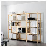 Стеллаж с 3 секциями IKEA IVAR ИКЕА S79894563