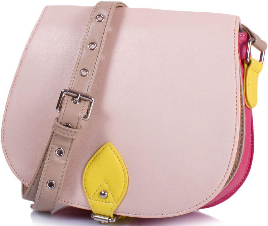 Сумка AMELIE GALANTI A959604-pink, женская, кожзам, разноцветная