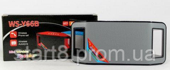 Портативная Bluetooth колонка WS-Y66, фото 2