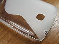 S-line чехол для LG E435 Optimus L3 II Dual Прозрачный