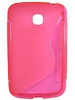 S-line чехол для LG E435 Optimus L3 II Dual Розовый