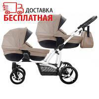 Детская коляска 2 в 1 для двойни B 42 Premium New Bebetto