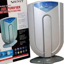 Очиститель ионизатор воздуха ZENET XJ-3800