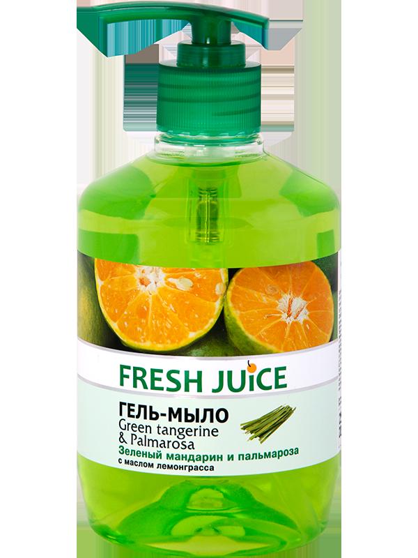 """Fresh Juice"" Жидкое крем-мыло Green Tangerine&Palmarosa 460мл"
