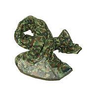 Маскировочная сетка-шарф Mil-Tec немецкий камуфляж (Flectarn), фото 1