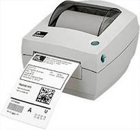 Настольный термопринтер печати этикеток Zebra gc 420 d