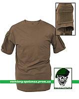 "Тактическая футболка ""Карго"" с коротким рукавом олива (olive)"