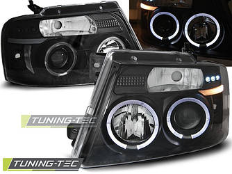 Передние фары тюнинг оптика Ford F150