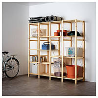Стеллаж на 4 отделения IKEA IVAR ИКЕА S09896004