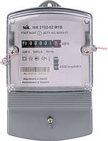 Счетчик электроэнергии однофазный однотарифный NIK 2102-02 М1В (5-60А)