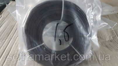 Проволока фасованная черная, диаметр 1,2 мм.