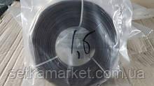 Дріт фасована чорна, діаметр 1,2 мм.