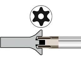 Набор Г-образных ключей TORX, фото 2