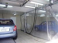 Влагустойчивая штора для автомойки из ткани ПВХ (Япония)