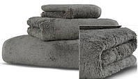 Aire пушистое полотенце 30х40 от HAMAM  mineral gray, фото 1