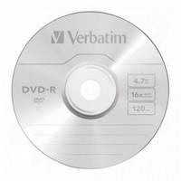 Диски DVD-R Verbatim 4.7Gb  100 pcs