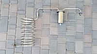 Дистиллятор, змеевик под непроточную воду под Вашу емкость с разборным сухопарником