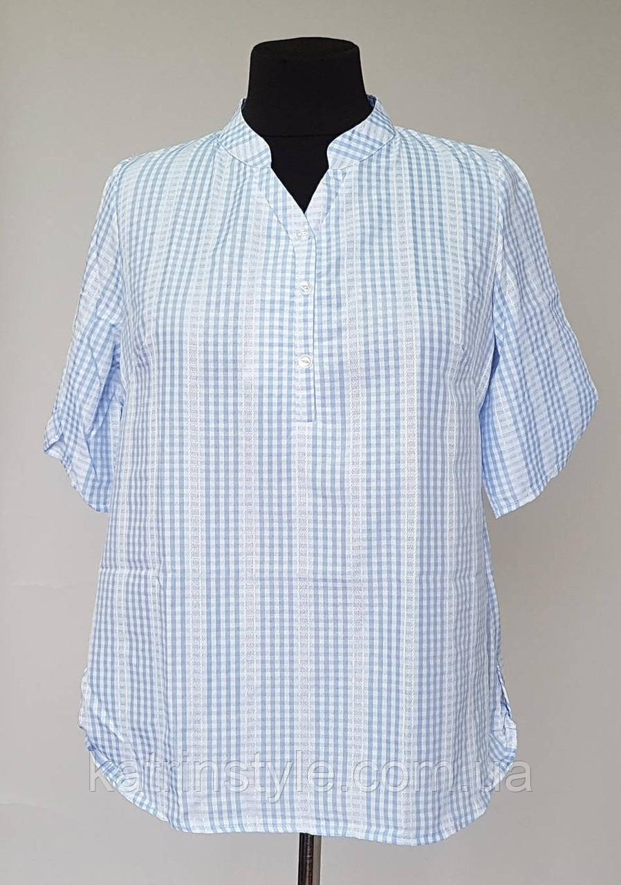 Рубашка женская свободного кроя