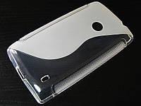 S-line чехол для Nokia Lumia 525 Прозрачный