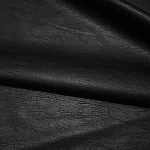 Кожзам на хб основе черный (от 10 метров)