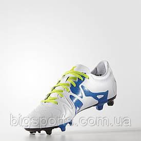 Бутсы футбольные Adidas X 15.3 FG/AG Leather (арт.S74641)