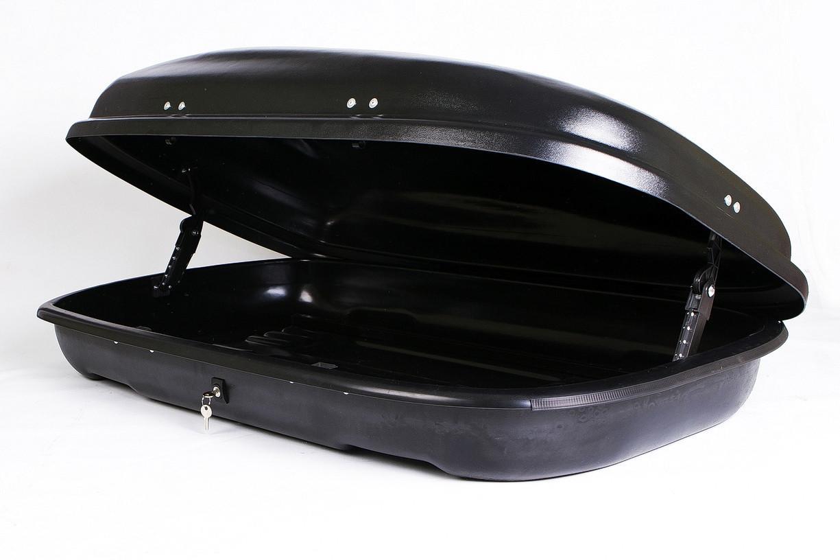 Багажний бокс Десна-Авто 320л чорний, одностороннє відкриття