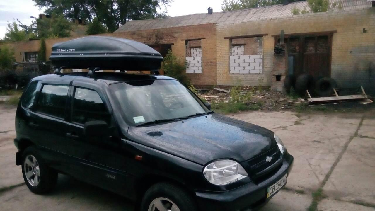 Багажник на крышу Шевроле Нива (ВАЗ 2123) - Десна-Авто Ш-4