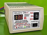 Аида 20si: пуско-зарядное устройство для авто аккумуляторов 32-250 Ач c цифровым индикатором