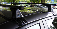 Багажник Cruz на Ford Fiesta 5 дверей 2008-2013, квадратный, сталь, фото 1