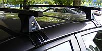 Багажник Cruz на Ford Fiesta 5 дверей 2013-, квадратный, сталь, фото 1