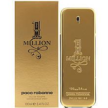 Мужская туалетная вода Paco Rabanne 1 Million 100 ml, Пако Рабан 1 Миллион 100 мл, Реплика супер качество
