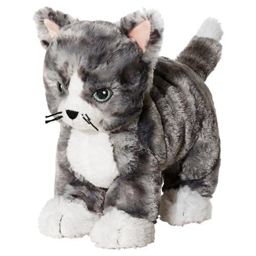 ЛІЛЛЕПЛУТТ Мягкая игрушка, кот серый/белый, 00260451, ИКЕА, IKEA, LILLEPLUTT