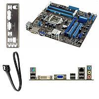 ASUS p8h67-m2/si 4 слота DDR3 H67 1155 сокет 2 видео-выхода
