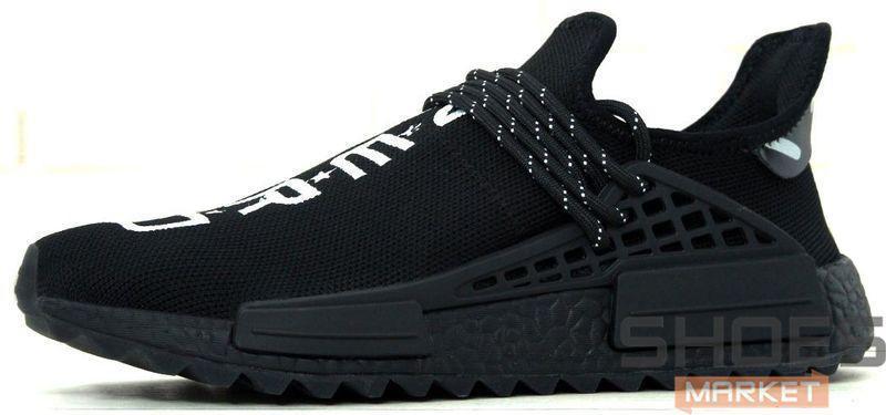 Мужские кроссовки Adidas NMD HU Pharrell Y.O.U. N.E.R.D. BB7603, Адидас НМД