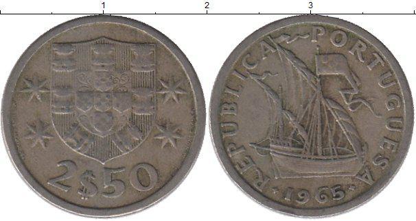 Португалія 2,5 ескудо 1984р.