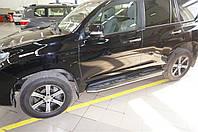 Защита штатных порогов Toyota Land Cruiser 150 (2009- /2017-) d42