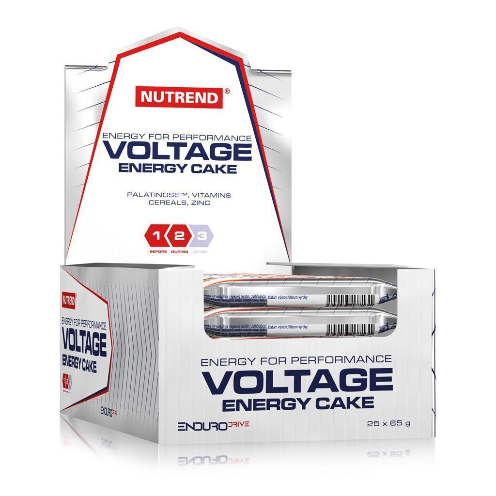 Энергетический батончик Nutrend Voltage Energy cake 25х65g