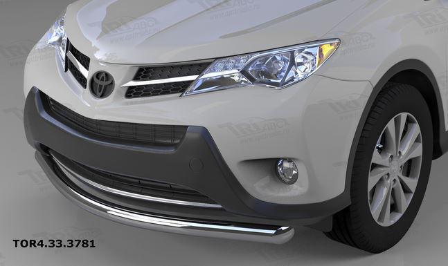Защита переднего бампера Toyota RAV4 (2013-2015) (одинарная) d 60