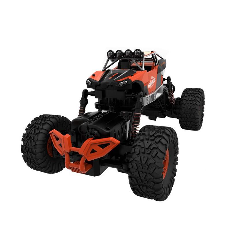 Радиоуправляемая игрушка CRAZON Crawler Bone Джип на р/у 1:16, 4x4 Оранжевый (SUN1034)