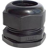 Кабельный ввод PG 48 черный (гермоввод, сальник, муфта)