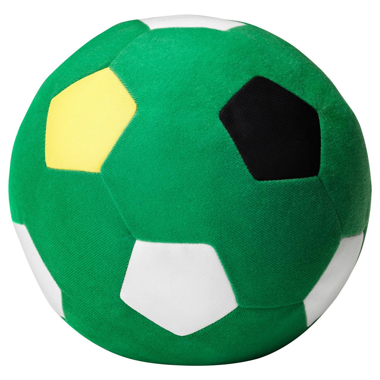 СПАРКА Мягкая игрушка, зеленый футбольный, зеленый, 70302645, ИКЕА, IKEA, SPARKA