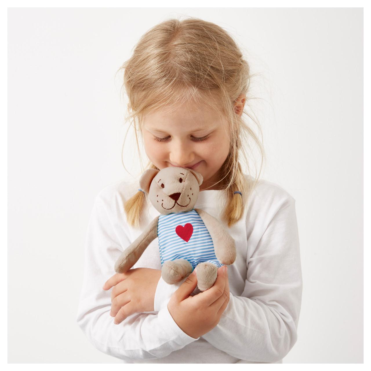 ФАБЛЕР БЬЁРН Мягкая игрушка, мишка, бежевый, 21 см, 00141401, ИКЕА, IKEA, FABLER BJÖRN
