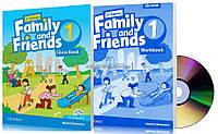 Английский язык   Family and Friends   Class+Workbook+DVD. Учебник+Тетрадь, 1   Oxford