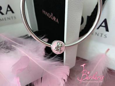Серебряный шарм «Винтажная Минни » копия Pandora